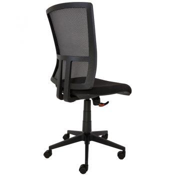 black boardroom chair