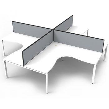 white computer desks