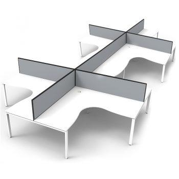 white desks