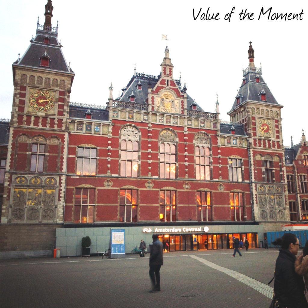 Центральный вокзал, Амстердам, Голландия (Нидерланды)