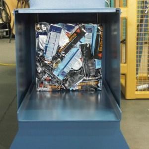 DS-A-250 Presa automat reciclare
