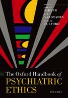 Oxford Textbook of Psychiatric Ethics