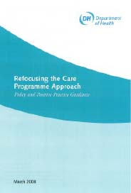 Refocusing the Care Programme Approach