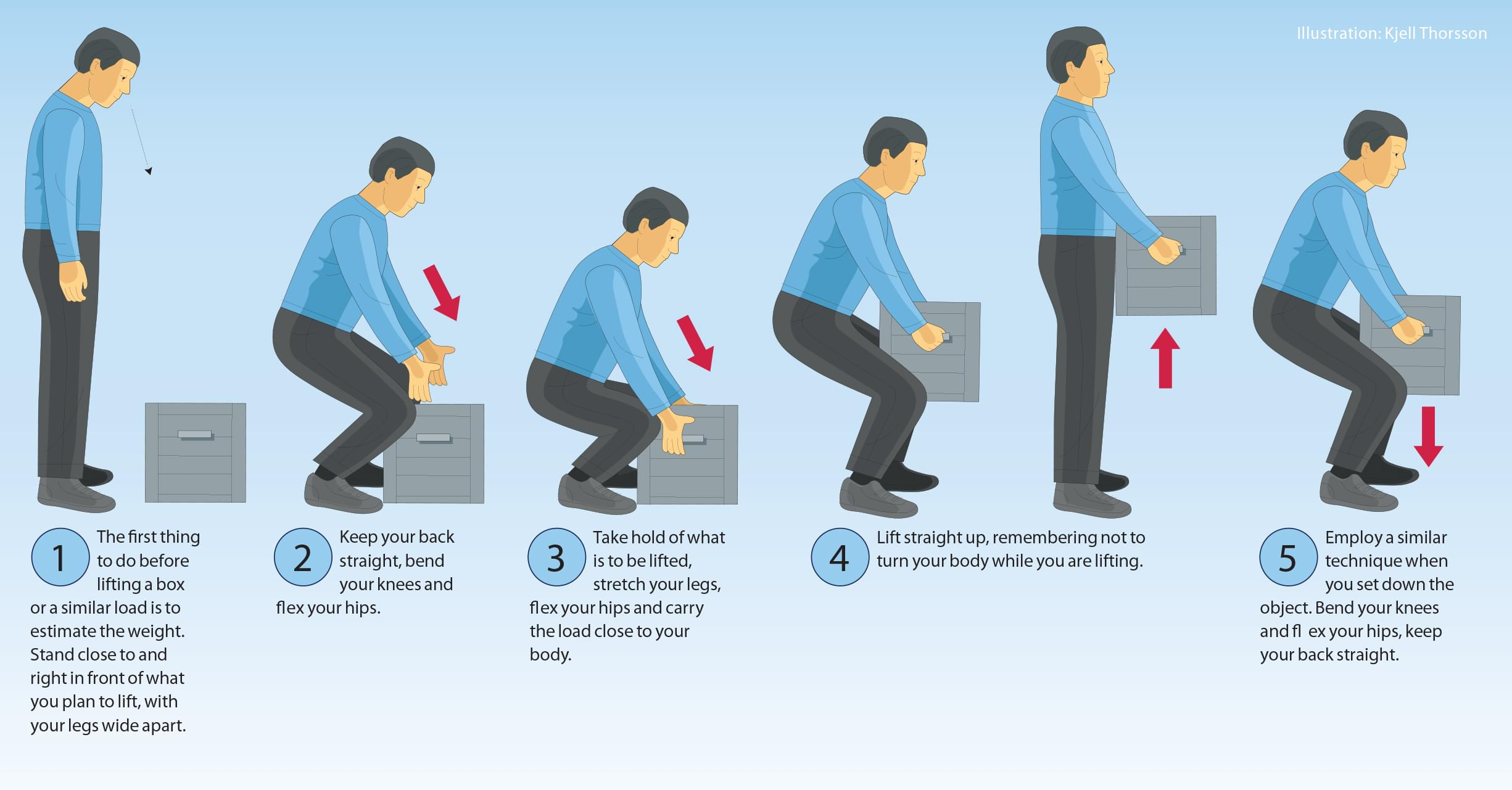 how to lift a chair with one hand rocking swivel move your belongings without injuring yourself