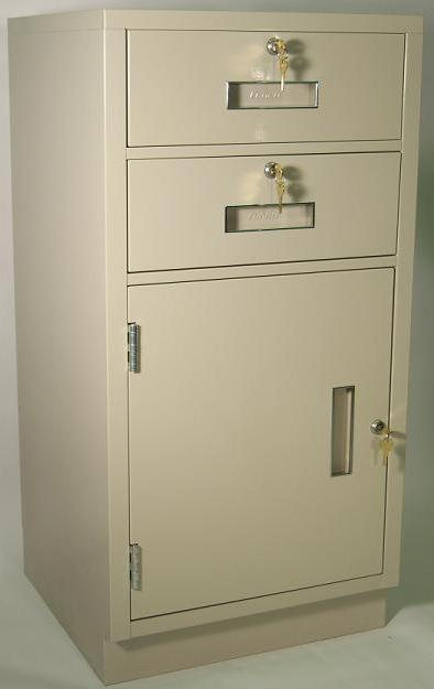 Fenco under-counter locking heavy duty cabinet with drawers
