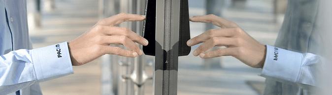 PACOM - access keypad - mirrored photo