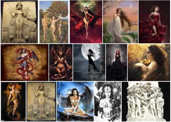 Lilith im Bilde