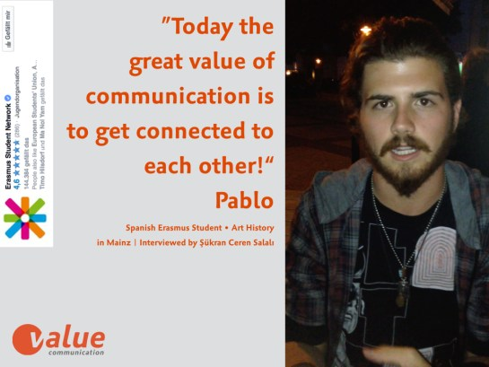 ValueTalk! — What is the real value of communication ERASMUS students.003