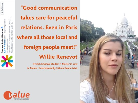 ValueTalk! —What is the real value of communication ERASMUS students.005