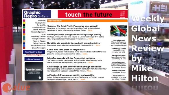 Global News: Impact of the Circular Economy on Print and