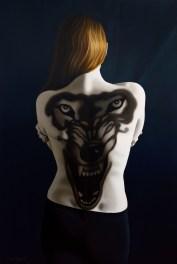 Anna Grau: Lilith 4, Öl/Leinwand, 100x160 cm