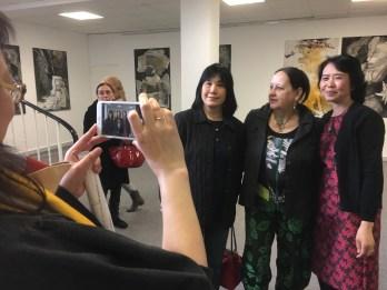 Begeisterte Besucher aus China. Foto: Andreas Weber