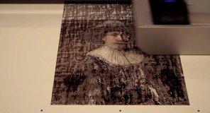 Herstellungsprozess the next rembrandt