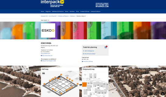 ESKO at Interpack 2017.png