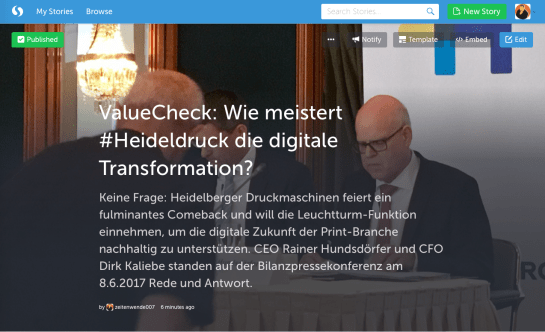 Heideldruck BPK Review via ValuePublishing Storify 08062017
