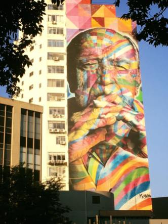 In Memoriam Oscar Niemeyer by KOBRA