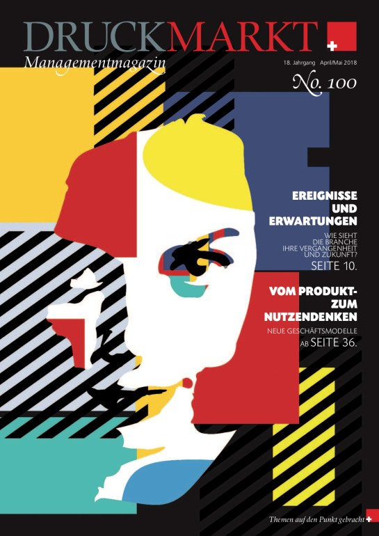 Druckmarkt Ausgabe 100CH_Titel