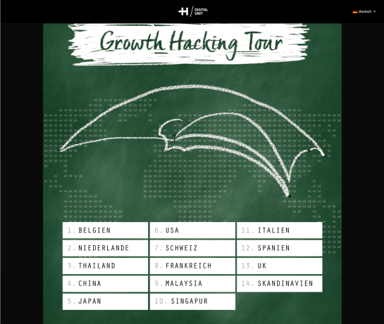 HDU Growth Hacking Tour 2018