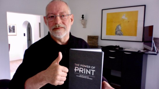Andreas Weber Selfie mit Studie