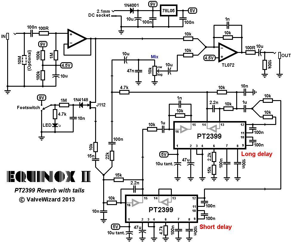 Equinox: Easy PT2399 Reverb