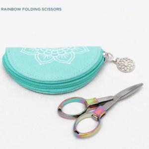 Rainbow Folding Scissors