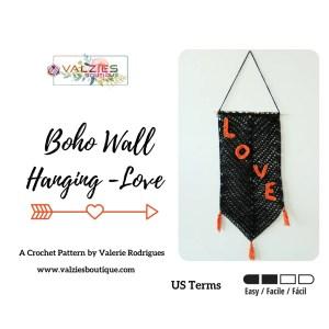 Wall Hanging Pattern - Love