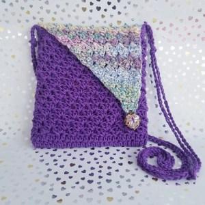 Crochet Crossbody Bag