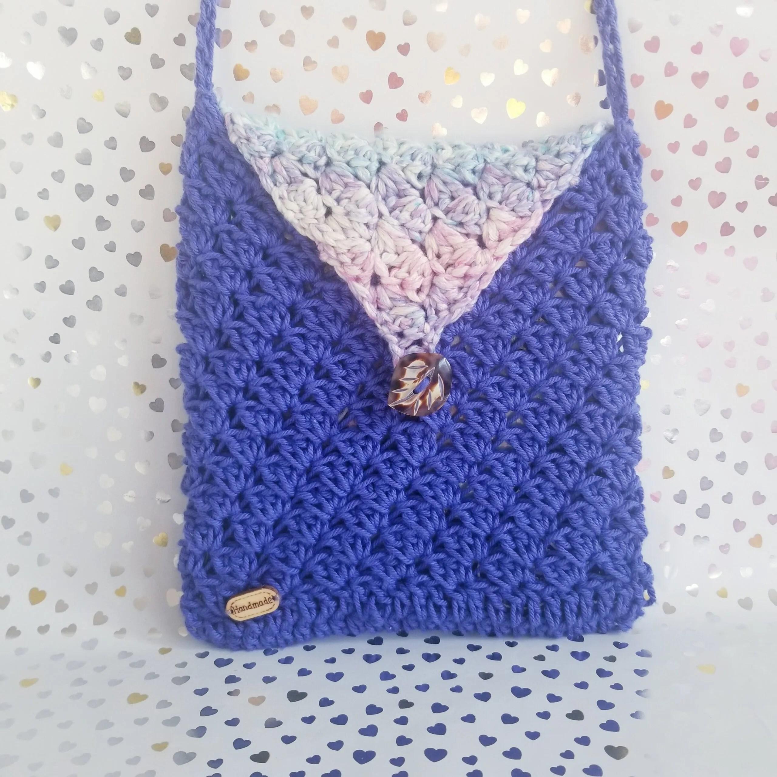Crossbody Crochet Bag