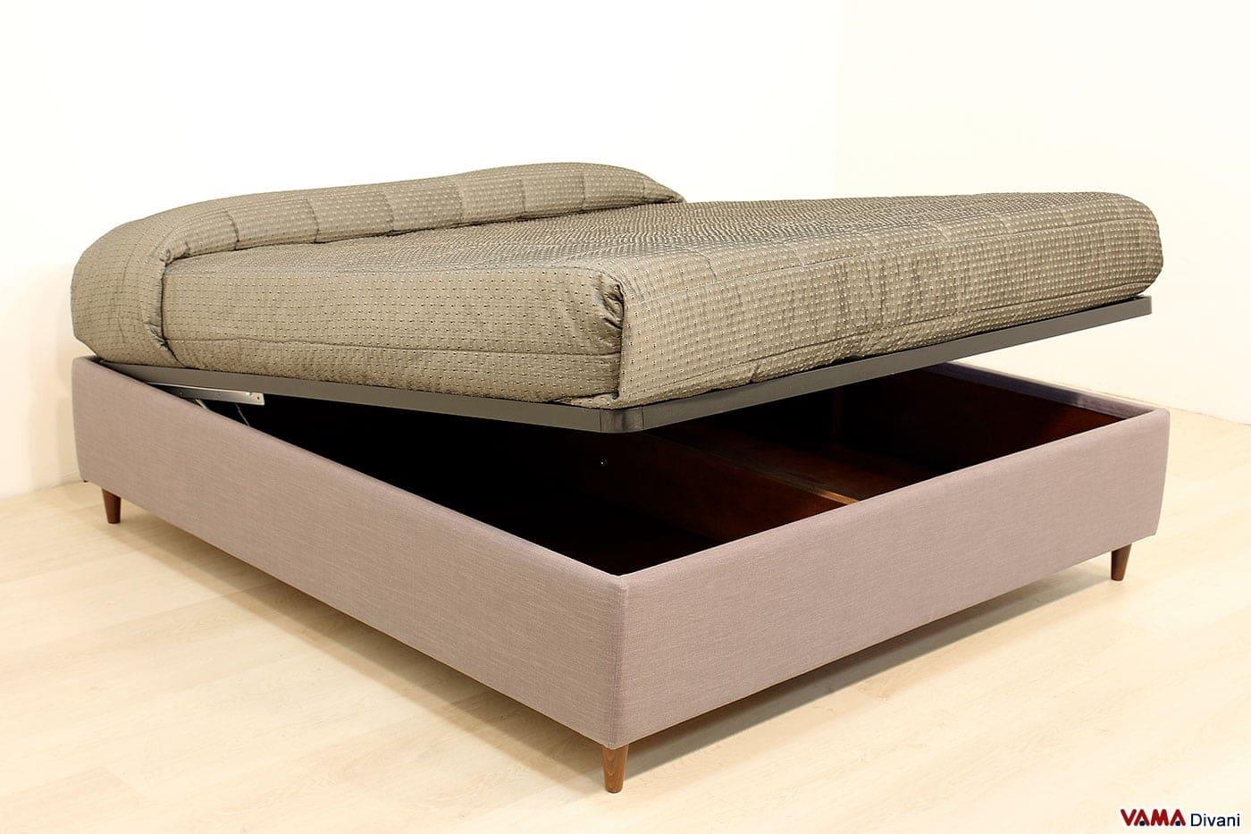 Letto Senza Testata Ikea : Letto con cassettone sommier contenitore elettrico a partire da