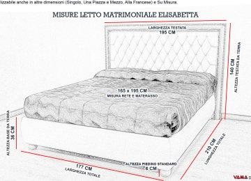 Materassi Misure Matrimoniali | Letto Chesterfield Matrimoniale In ...