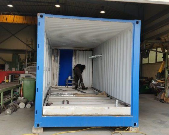 Kjemikalie container