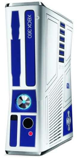 Star Wars Themed Xbox 360 Bundle - R2-D2 Console