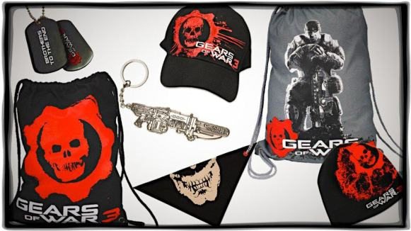 Win with Vamers: Exclusive Gears of War 3 Swag