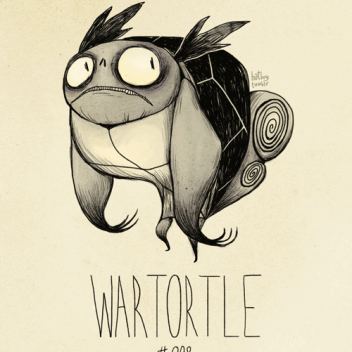 Vamers - Lifestyle - Gotta Sketch 'Em All, Tim Burton Styled Pokémon - 8