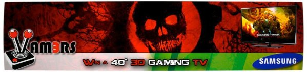 Vamers - Gears of War Judgement Competition - Banner
