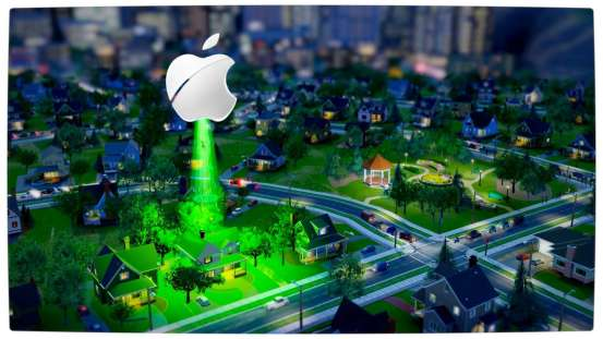 Vamers - FYI - SimCity (2013) - Apple UFO Abduction