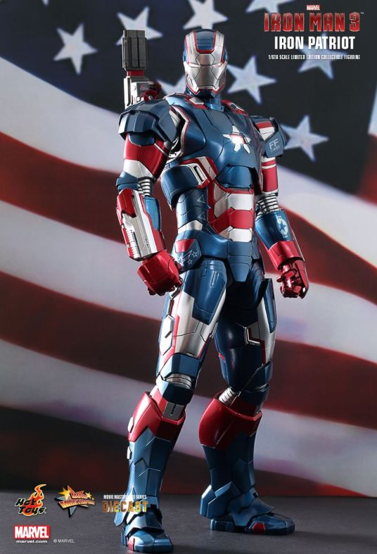 Vamers - Hot Toys Limited Edition Collectible - Iron Man 3 - Iron Patriot