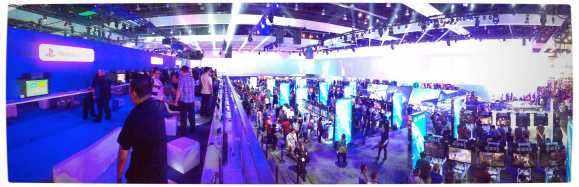 Vamers - Games - Sony's DualShock 4 - Hands-On - The DualShock 4 - Sony E3 2013 Booth Overview