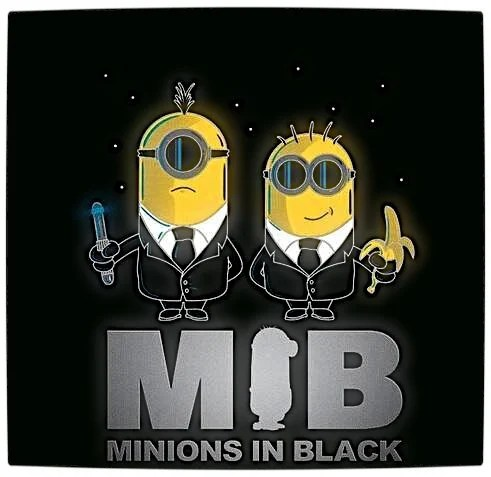 Vamers - Fandom - Minions In Black