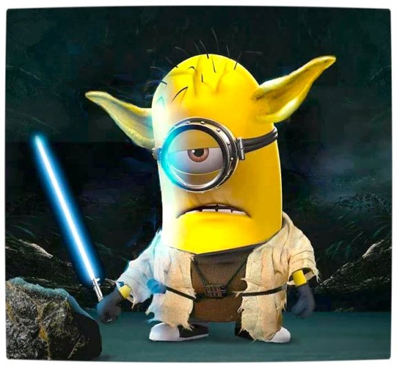 Vamers - Artistry - Fandom - Minion Wars Feel the Force - Star Wars and Despicable Me Mash-Up - Minion Yoda
