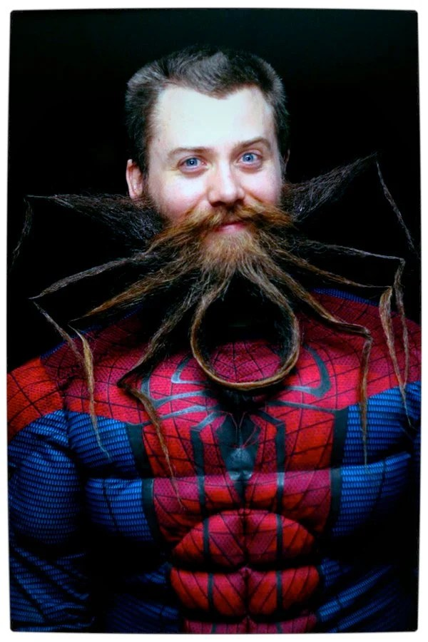 Vamers - Ermagherd - An Amazing Spider-Man Beard by Chad Roberts - Full