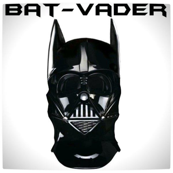 Vamers - Artistry - Bat Vader is The Dark Knight of the Sith - Batman and Darth Vader Mash-Up - Bat Vader Mask by DArt19