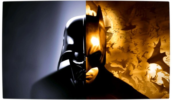 Vamers - Artistry - Bat Vader is The Dark Knight of the Sith - Batman and Darth Vader Mash-Up and Crossover - Primary Divide
