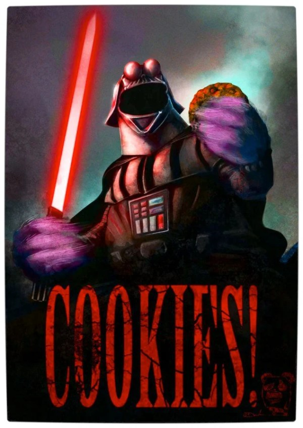 Vamers - Artistry - Bat Vader is The Dark Knight of the Sith - Darth Vader and the Muppets Mash-Up - Art by Dav0512RT