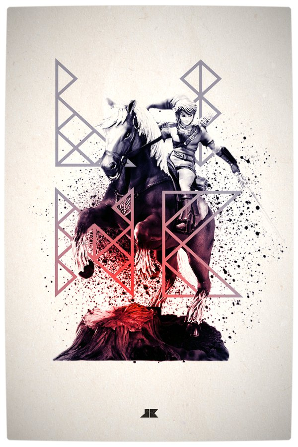 Vamers - Artistry - Beautifully Stylized Posters Of Heroes and Villains - By Josip Kelava - Link
