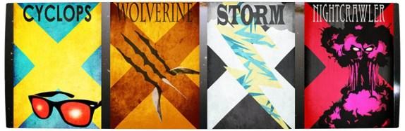 Vamers - Artistry - Minimalist X-Men Poster Art - Banner
