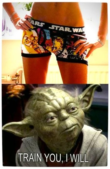 Vamers - Humour - Said That She Did - A Meme By Yoda - Training