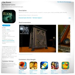 Vamers - FYI - Games Now Available through the iTunes App. Store in South Africa - The Room