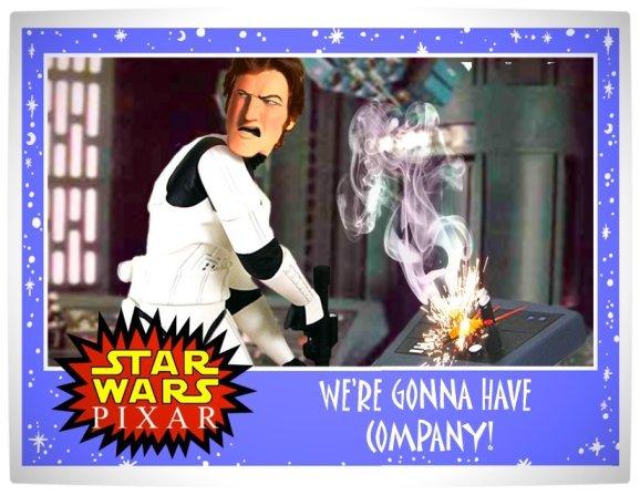 Vamers - Artistry - Star Wars as if it had been created by Pixar - Storm Trooper