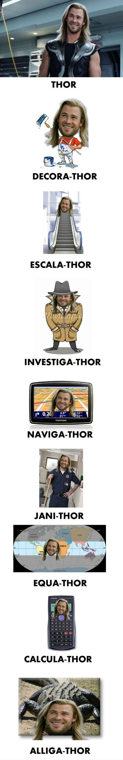 Vamers - Humour - Thorsday - Putting Thor in more than just Thorsday - Main